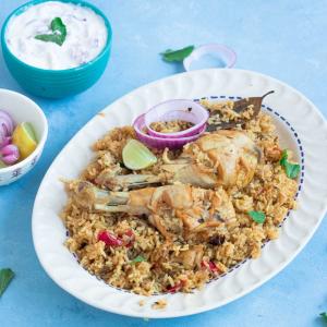 Chicken Biryani in Instant Pot   Instant Pot Chicken Rice