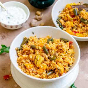 Instant pot vegetable biryani (South Indian) recipe