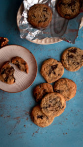 Chocolate Chunk Cookies, Chocolate chip cookies recipe, food photography