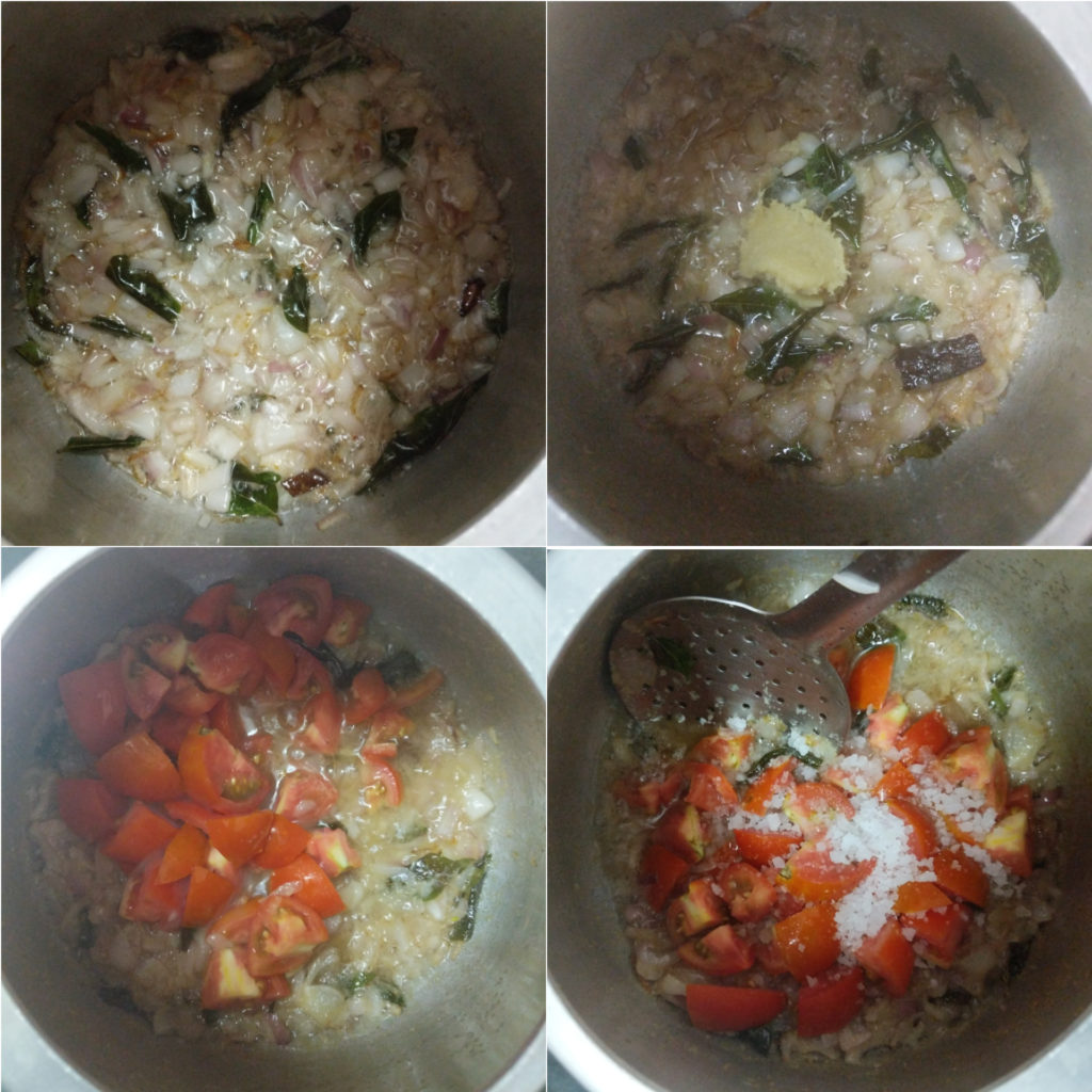 Making of chicken soup
