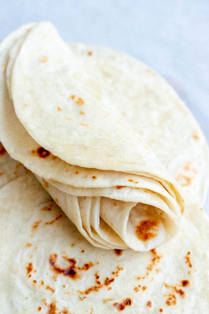 Recipe for Homemade Tortillas, homemade flour tortillas recipe