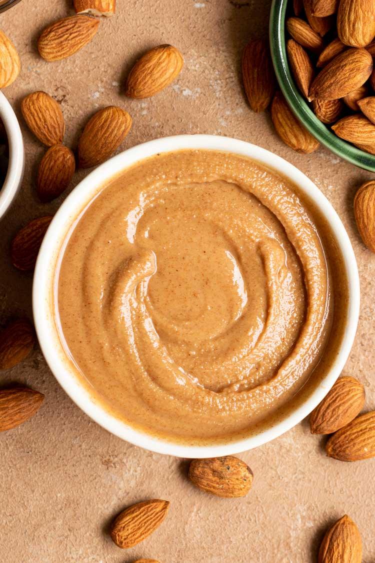 NUT BUTTER TEXTURE, Raw Almond Butter Recipe