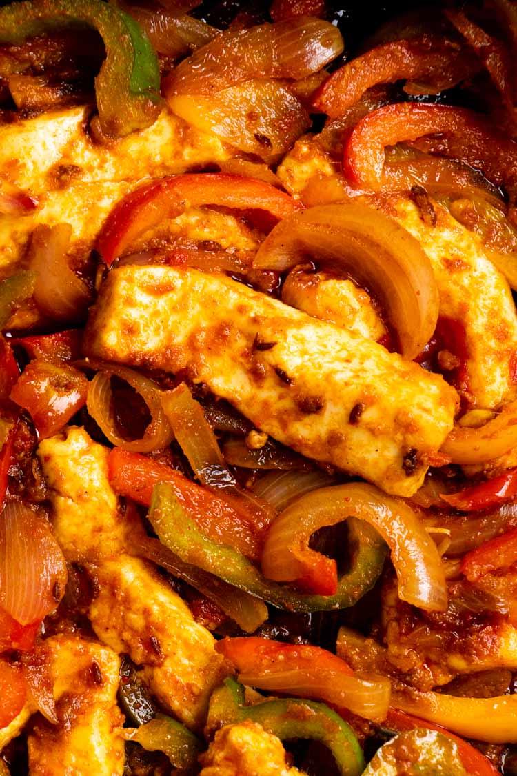 recipe for paneer jalfrezi