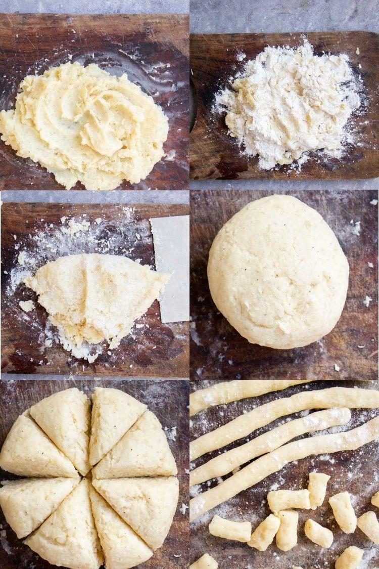 potato pasta steps