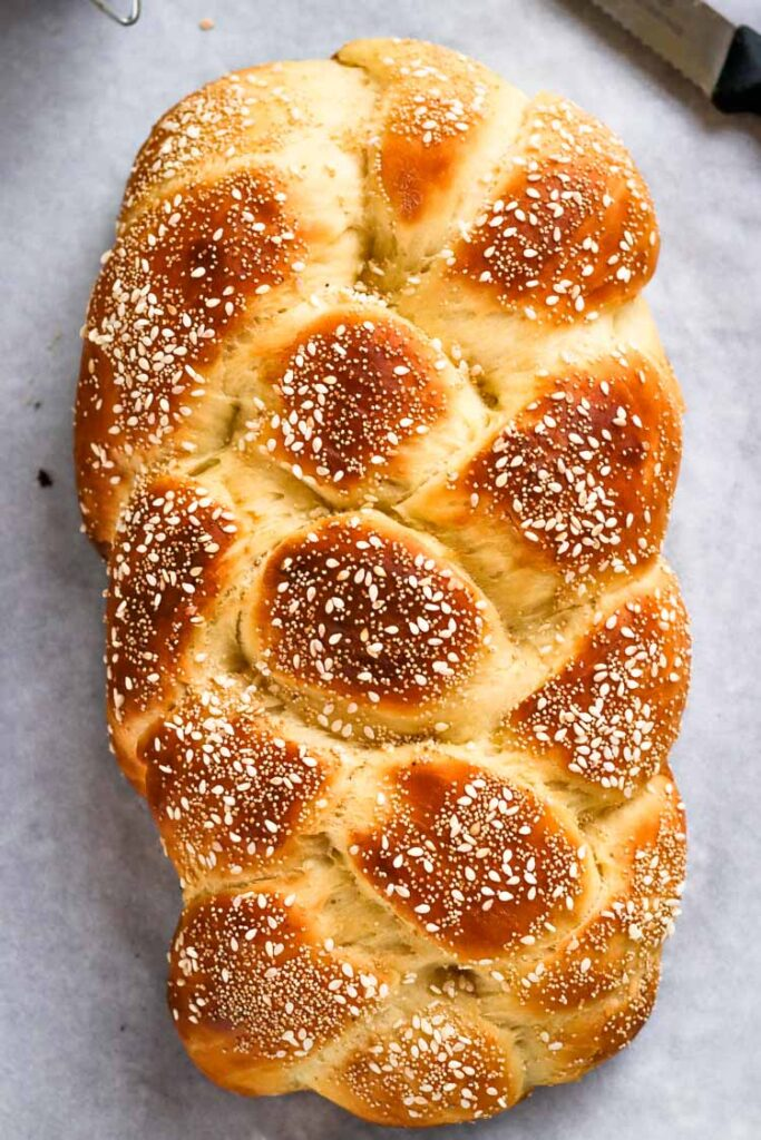 Traditional challah recipe, food Photography