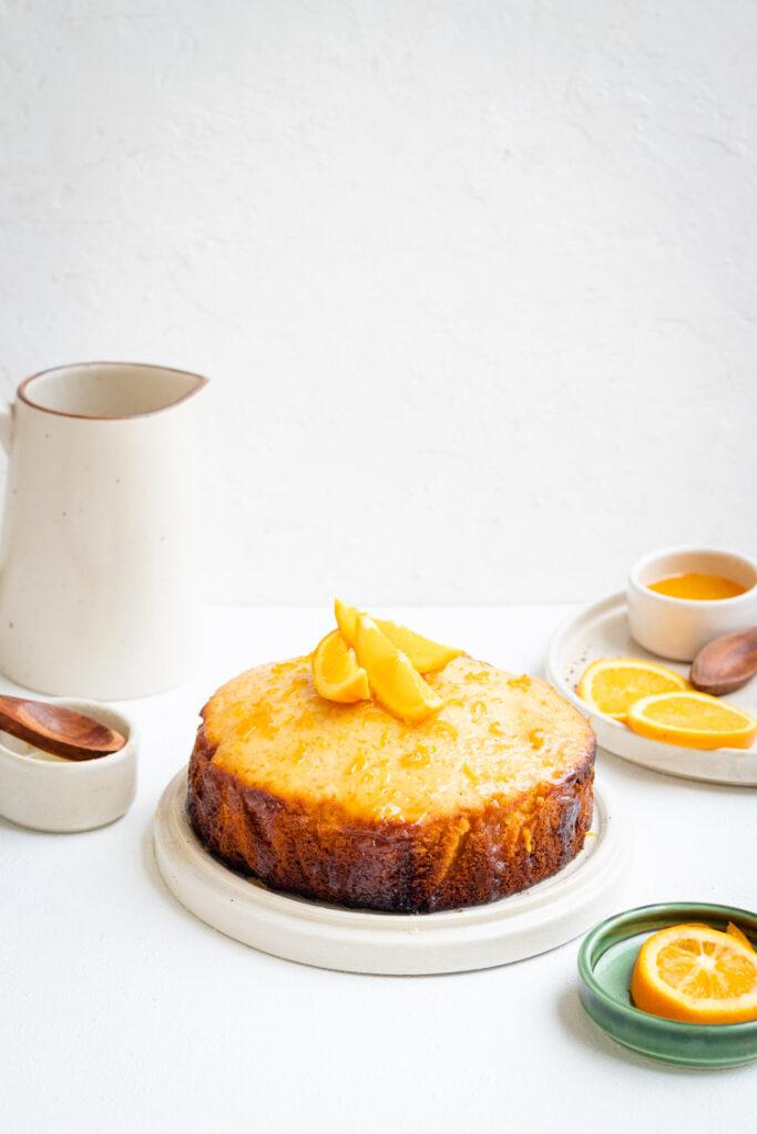 French Yogurt Cake, Food photography, Le gateau au yaourt, Food Photography, French Yogurt Cake with Orange Glaze, cake photography