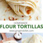recipe for homemade tortillas