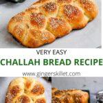 TRADITIONAL CHALLAH BREAD RECIPE