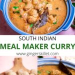 meal maker curry