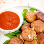 Vazhaipoo vadai recipe, vazhaipoo vadai food photography