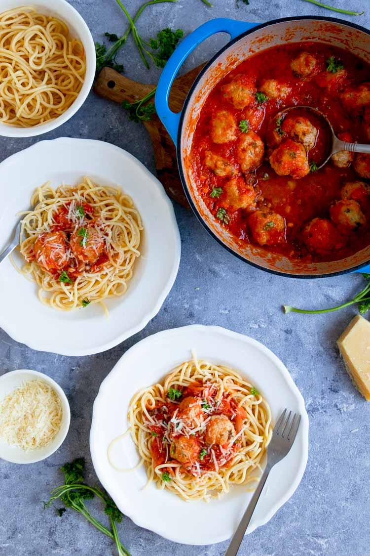 spaghetti and meatballs food photography, spaghetti and meatballs indian