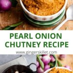 recipe for onion chutney